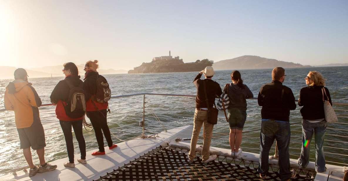 San Francisco: crociera al tramonto in catamarano