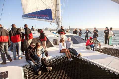 San Francisco Bay Sunset Cruise by Luxury Catamaran
