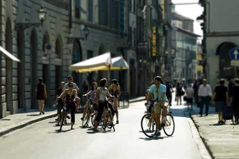 Firenze in bici: tour fotografico guidato di 2 ore