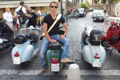 Rome: Half-Day Tour by Vespa with Driver