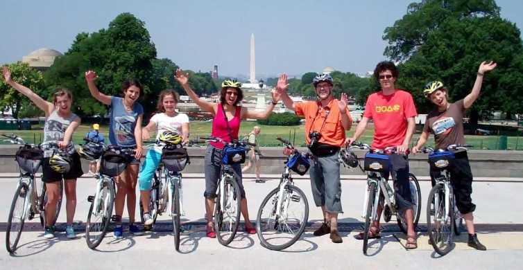 Bike Tour: Capitol Hill, Lincoln Memorial, National Mall