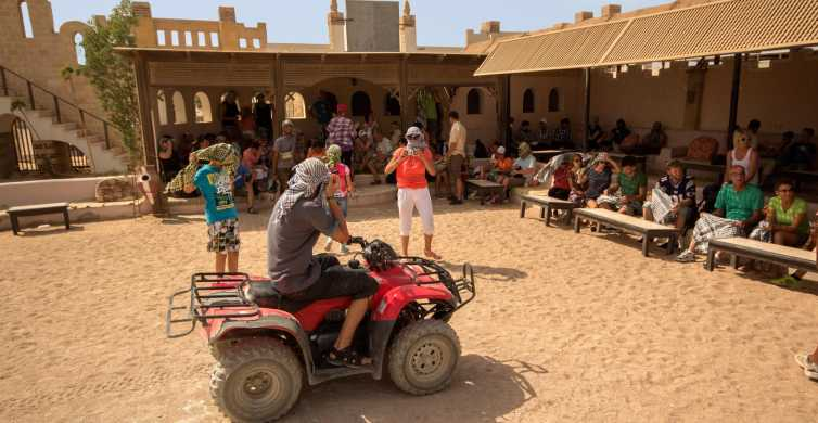 Hurghada: Desert Quad Bike Safari with Optional GoPro
