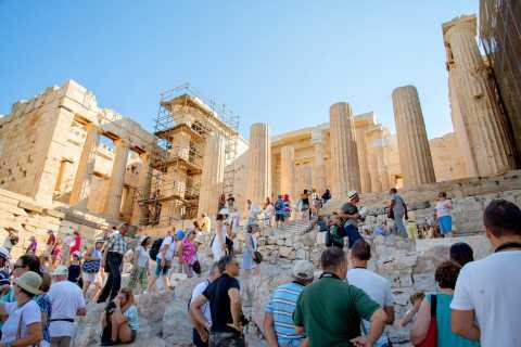 3-stündige Sightseeing-Tour durch Athen & Akropolis Ticket