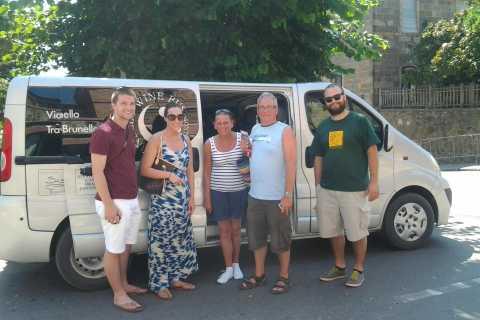 Tuscany: Brunello Half-Day Wine Tour by Minibus