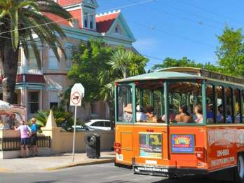 Key West: Hop-On-Hop-Off-Tour Altstadt mit Straßenbahn