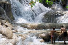 Excursão cênica às Cataratas do Rio Dunn e Ocho Rios