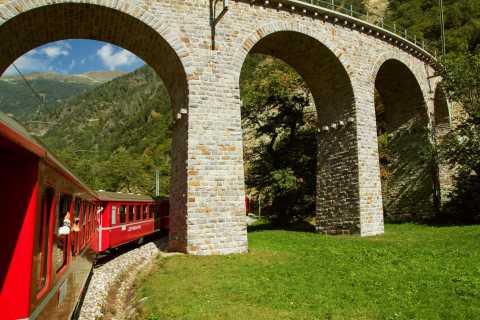 Bernina e St. Moritz: tour di 1 giorno da Milano