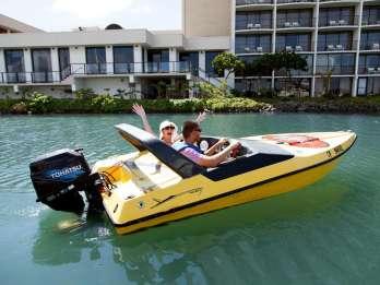 San Diego: Speedboot zum Selbstfahren