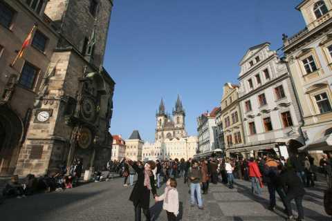 Prague's Historical Core by Bus