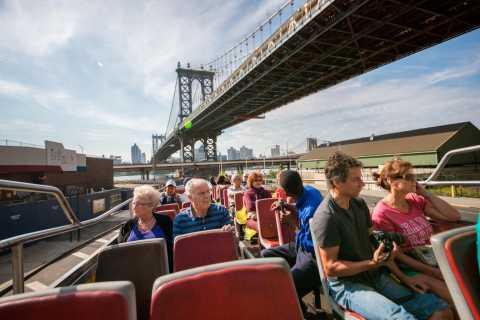 New York: bus à arrêts multiples, ferry et visite nocturne