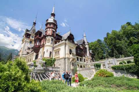 Peleș e Bran: 1 giorno nei castelli della Transilvania