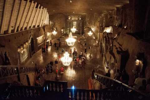 Wieliczka Salt Mine Guided Tour with Hotel Pick-up