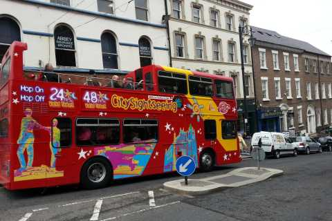 City Sightseeing Londonderry Tour in autobus Hop-On Hop-Off