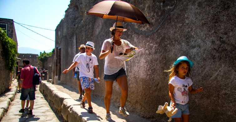 Pompeii & Amalfi Coast Full-Day Tour from Naples
