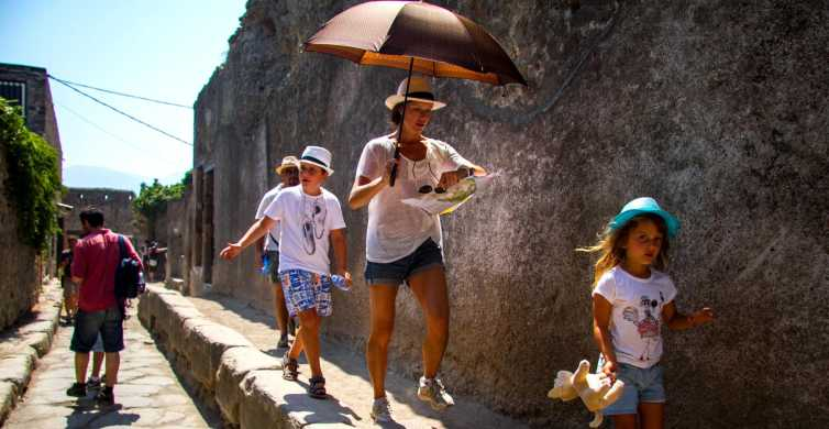 Pompei e Costiera Amalfitana: tour guidato da Napoli