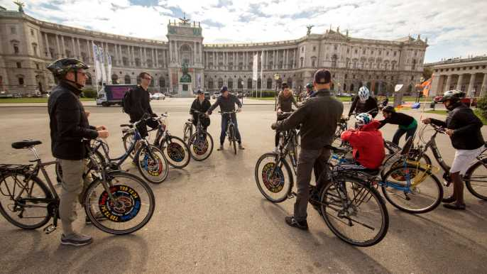 Classic Vienna: 3-Hour Guided Bike Tour
