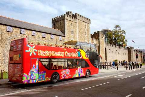 Cardiff: 24-Hour Hop-on Hop-off Bus Tour