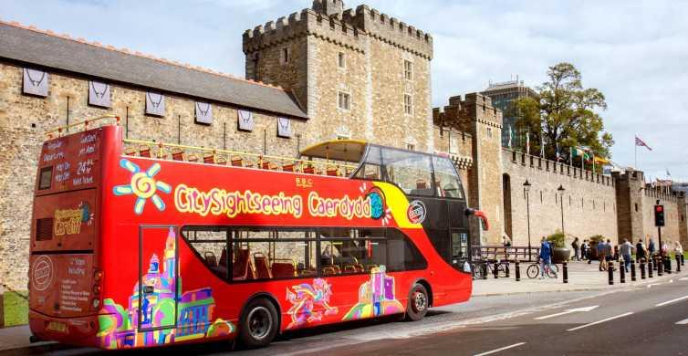 Cardiff: 24-Hour Hop-on Hop-off Bus Tour