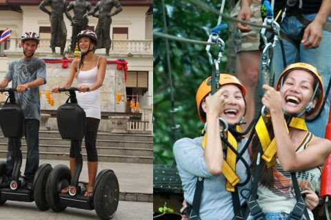Chiang Mai: Segway and Eco Canopy Zip-Line Adventure