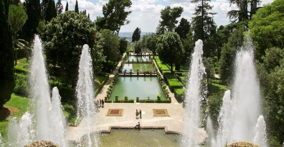 Rome: Day Tour of Villa D'Este & Hadrian's Villa Tivoli