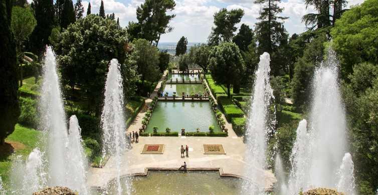 Tivoli: tour di Villa d'Este e Villa Adriana da Roma