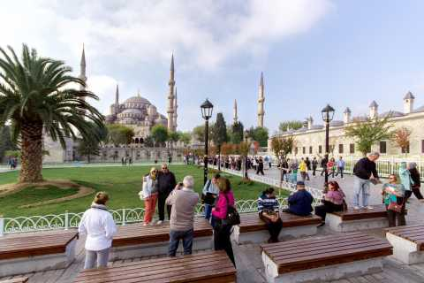 Blue Mosque, Hagia Sophia & Grand Bazaar with Entry Tickets