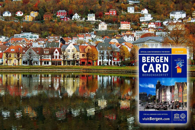 Bergen Card: 24, 48 oder 96 Stunden