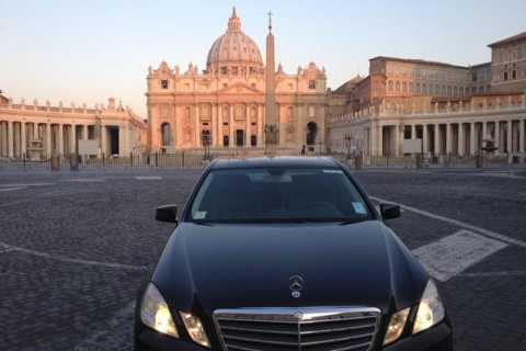 Fiumicino Airport Private Luxury Transfers to Rome