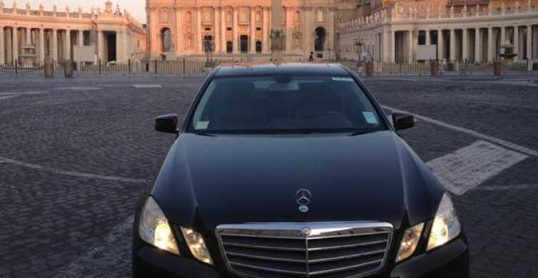 Flughafen Fiumicino – Rom: Luxuriöser Privat-Transfer