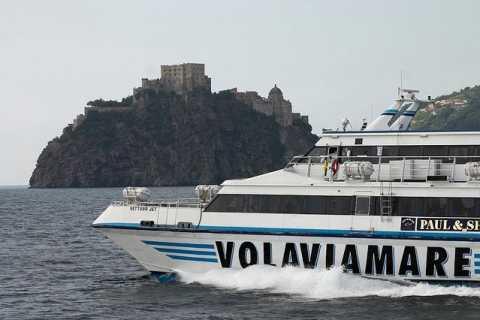 Traslado de ida de Nápoles a Isquia