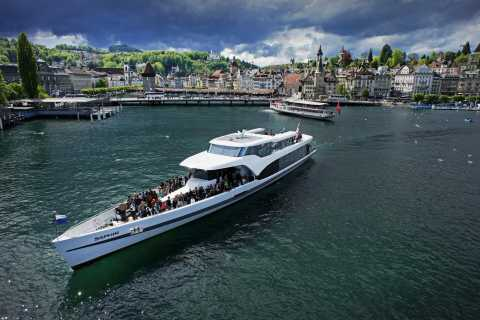 Lucerne: 1-Hour Cruise on Panoramic Yacht