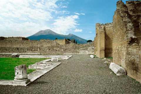 Die Ruinen von Pompeji: Rundfahrt mit Transfer ab Rom