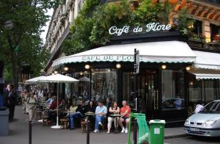 Paris: Sprachunterricht im Café de Flore und Stadttour