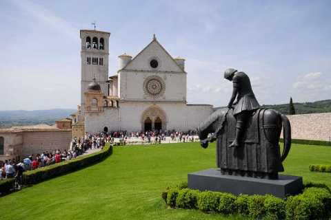 Assisi: 3-Hour Private Walking Tour and St. Francis Basilica