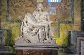 Rom: Vatikan, Kolosseum, Katakomben & Mittagessen
