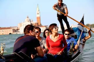 Venedig: Gondelfahrt auf dem Canal Grande