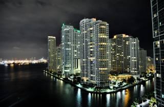 Miami bei Nacht Flightseeing-Tour