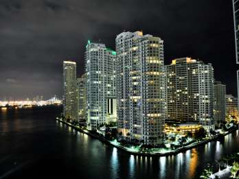 Miami bei Nacht Flightseeing-Tour
