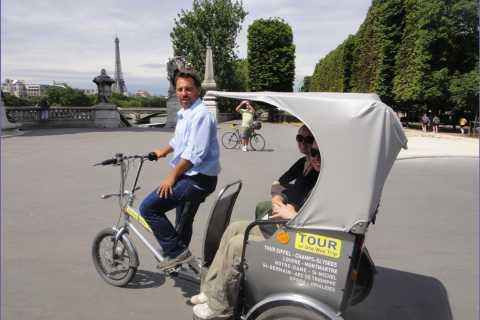Paris by Pedicab: 1 or 2 Hour Major Monuments Tour