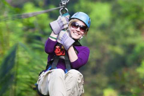 Tranopy: Canopy Zipline & Aerial Tram from Jaco