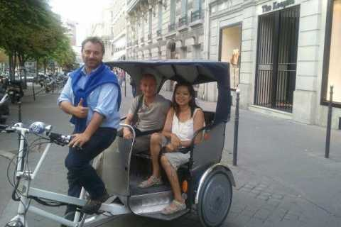 Paris by Pedicab: 1-Hour French Revolution Tour