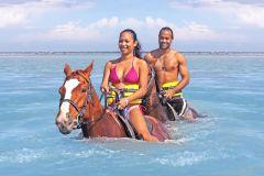 Montego Bay e Negril: Passeio e Mergulho em Cavalo