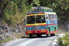 Linha de ônibus Zion Chukka