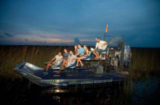 Sawgrass Recreation Park: Airboat-Tour bei Nacht