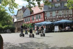 Frankfurt: excursão de segway verde de 2 horas