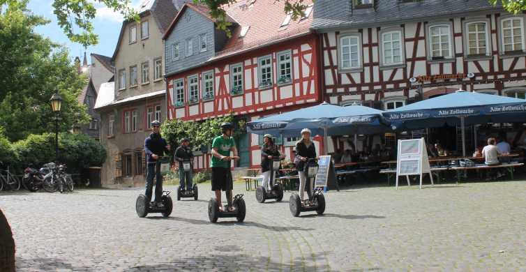 Frankfurt: 2-Hour Green Segway Tour
