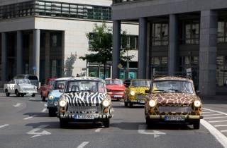 Dresden: 2 Stunden und 15 Minuten Trabi-Safari