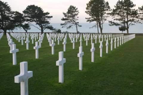 Normandy D-Day Landing Beaches Full-Day Tour from Paris
