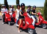 Ab Florenz: Chianti-Tagestour per Vespa