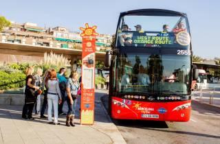 Barcelona: Hop-On/Hop-Off-Stadtrundfahrt 1 oder 2 Tage